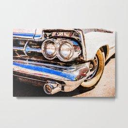Classic Car Beauty Metal Print
