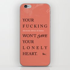 YOUR LONELY HEART iPhone & iPod Skin