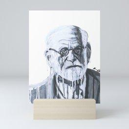 Melting Freud Mini Art Print