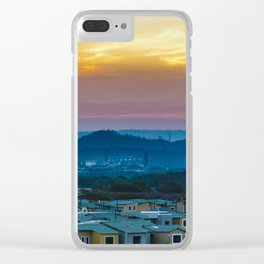 Twiglight Landscape Scene Guayaquil, Ecuador Clear iPhone Case