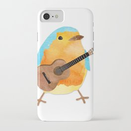 music bird iPhone Case
