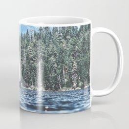 Calm Lake Sailboat Coffee Mug