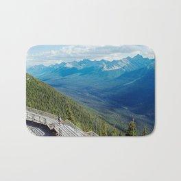 Canadian Rockies Bath Mat