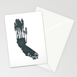 California is...The Forest Stationery Cards