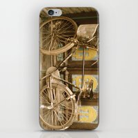 bicycle iPhone & iPod Skins featuring Bicycle by Gurevich Fine Art