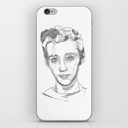 Troye Sivan Line Art  iPhone Skin