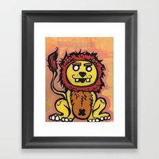 King of the Jungle Framed Art Print