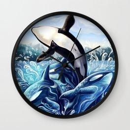 Anima orcae Wall Clock