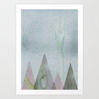 desert Art Prints featuring Desert by J Arell