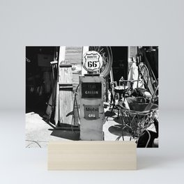 Route 66 Gas Mini Art Print