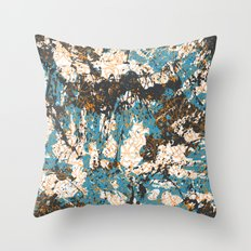 Bold abstract print for spring summer fashion Throw Pillow