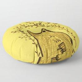 tea bear Floor Pillow