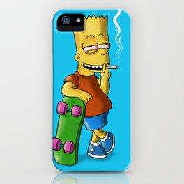 Bart Smoking iPhone Case