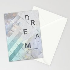 DREAM on many levels Stationery Cards