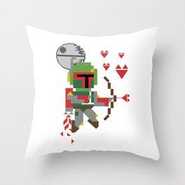 St Boba Fett Cupidon Throw Pillow
