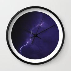 Planetary Bodies - Lightning Wall Clock