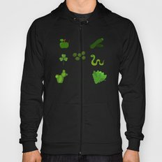 Colors: green (Los colores: verde) Hoody