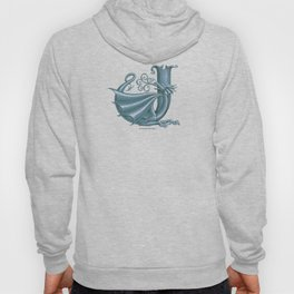 """Dragon Letter J, from """"Dracoserific"""", a font full of Dragons Hoody"""