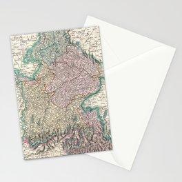Vintage Map of Bavaria Germany (1799) Stationery Cards