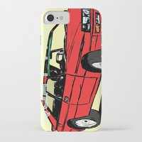 audi iPhone & iPod Cases featuring AUDI QUATTRO BRITISH EDITION 20V RED and BEIGE by Егор Шиянов