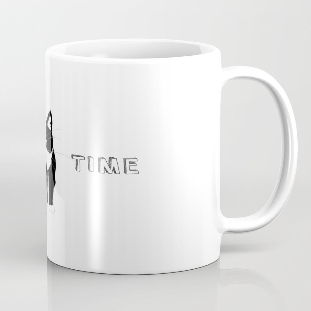 Hug Time Kitty Cat Tea Cup by Minimal-design MUG7726766