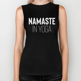 Namaste in Yoga Biker Tank