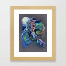 Night of the Living Buffy Framed Art Print