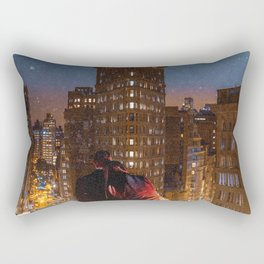 Flatiron Building Romance Rectangular Pillow