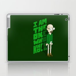 I am the One who Knocks Laptop & iPad Skin