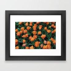Sensual Touch Framed Art Print