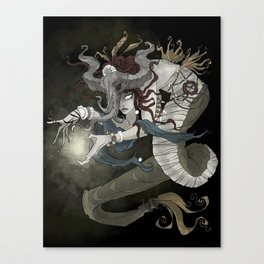 The sea witch Canvas Print