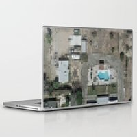 las vegas Laptop & iPad Skins featuring Las Vegas by Mark John Grant