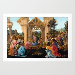 Sandro Botticelli The Adoration of the Magi Art Print