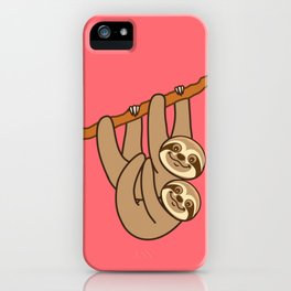 Cute Sloth!! iPhone Case