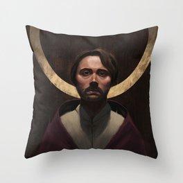 The King's Burden Throw Pillow