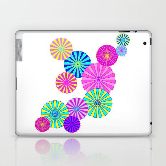 Parasols Laptop & iPad Skin by mellowcat (LSK7747671) photo