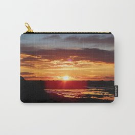 Ground Level Sunset Carry-All Pouch