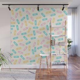 Pastel Plasters Wall Mural