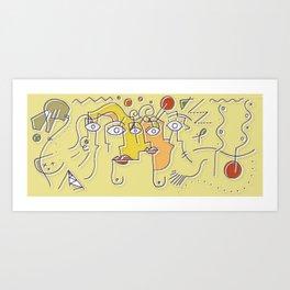 FANTASY MUG Art Print
