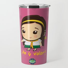 Cute Girl Master Guide Travel Mug