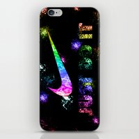lakers iPhone & iPod Skins featuring NIKE by Bilqis