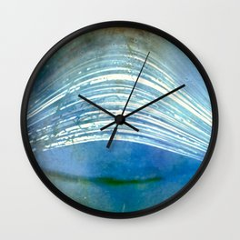 time in the sun (pinhole camera) Wall Clock