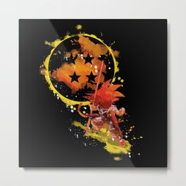 Little sayan Metal Print