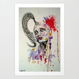 Lyme_Brain Art Print