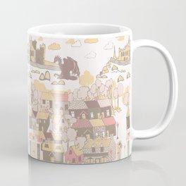 Cashel of the Kings Hand Drawn Art Coffee Mug