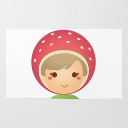 The Strawberry Gal Rug