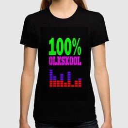 100% oldskool T-shirt