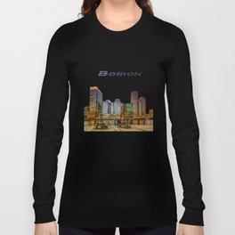Boston Financial District Long Sleeve T-shirt