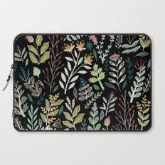 Dark Botanic Laptop Sleeve