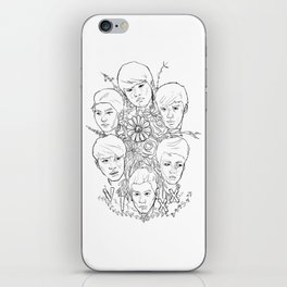 VIXX and Flowers iPhone Skin